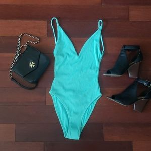 Brand new Topshop high waisted bathing suit sz 4